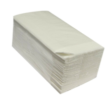 """Kéztörlő közületi """"V"""" hajtogatott 2 rétegű 100% fehér 150 lap (20 csomag/doboz)"""
