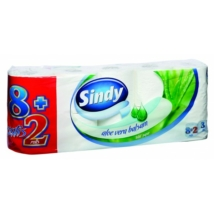 Sindy eü.papír normál 8+2 tekercs 3 rétegű Aloe Vera