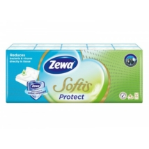 ZEWA Softis Protect papír zsebkendő 4 rétegű (10x9)
