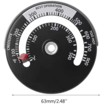 Mechanikus grillrács, vagy kémény hőmérő