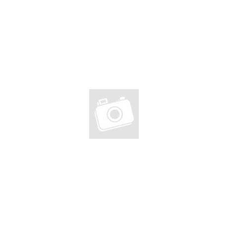 Papírtáska sodrott füllel fehér (18x22x8)