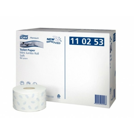 Tork eü.papír adagolóba Premium Mini Jumbo (12x120m) 3 rétegű fehér