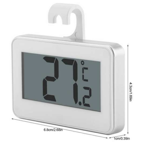 Digitális Akasztható Hűtőhőmérő